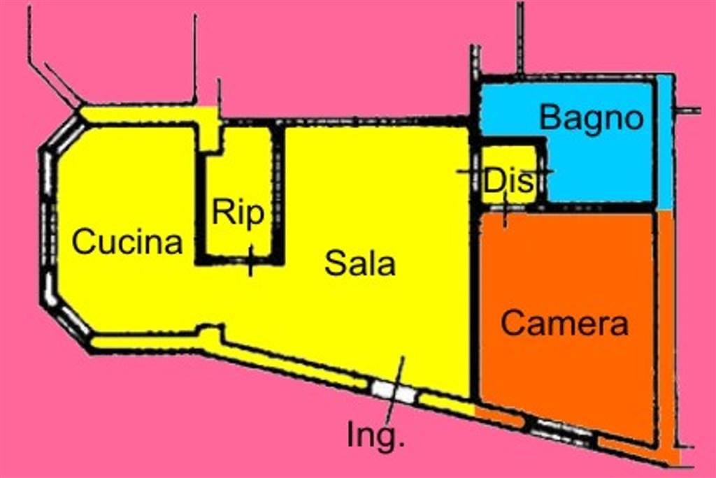 Appartamento in Vendita a Livorno: 2 locali, 60 mq