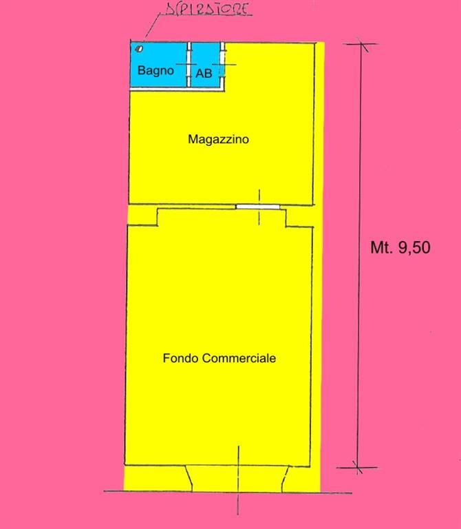 Negozio-locale in Vendita a Livorno: 2 locali, 40 mq