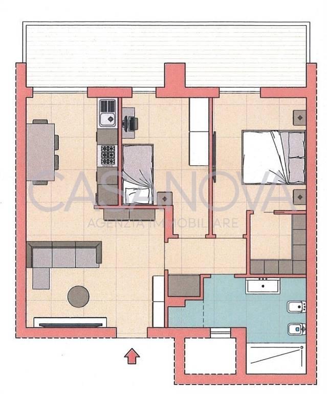 Appartamento in vendita a Giulianova, 3 locali, prezzo € 105.000 | CambioCasa.it