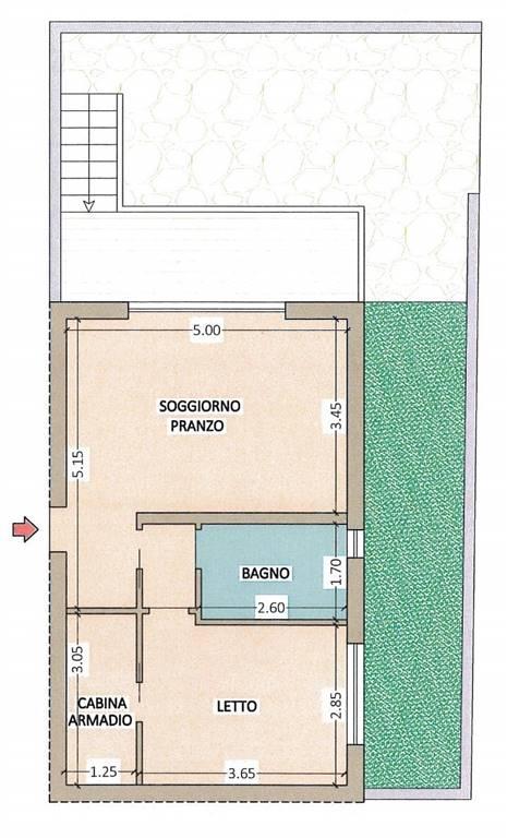 Appartamento in vendita a Giulianova, 2 locali, prezzo € 135.000 | Cambio Casa.it