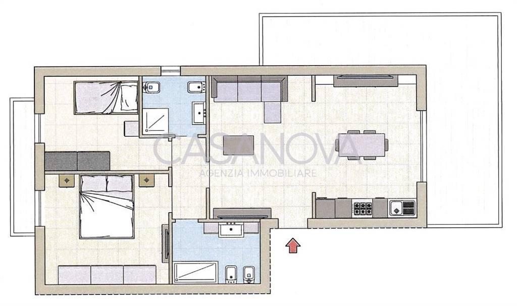 Appartamento in vendita a Giulianova, 3 locali, zona Località: LIDO, prezzo € 180.000 | Cambio Casa.it