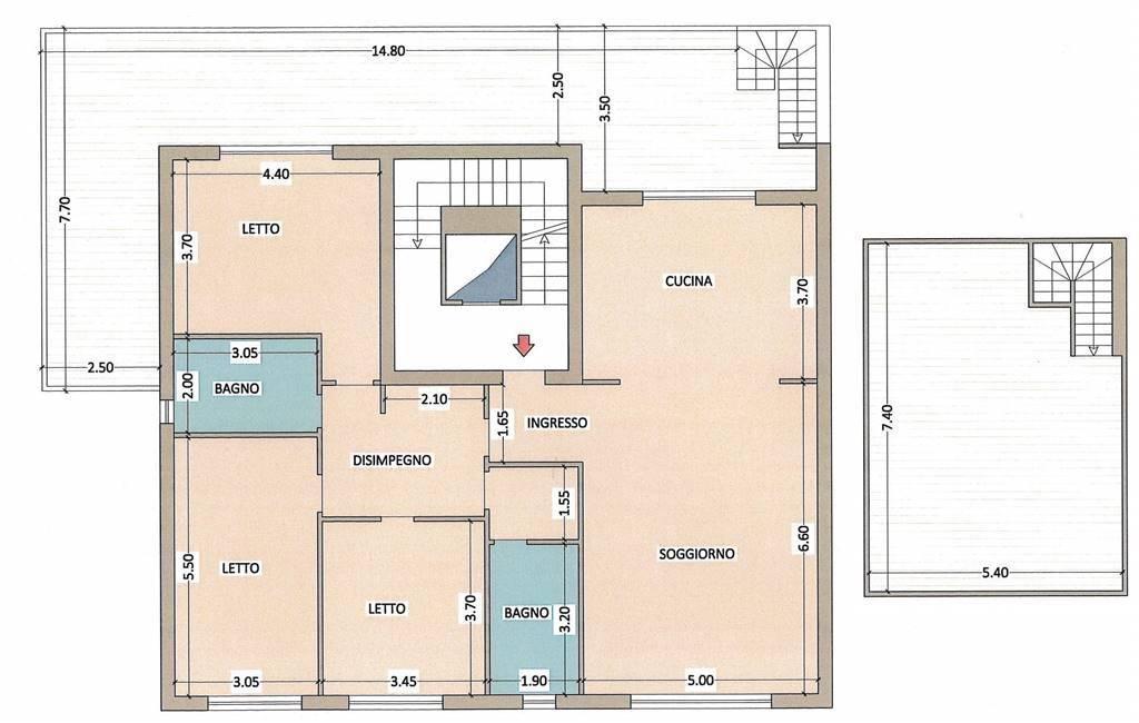 Appartamento in vendita a Giulianova, 4 locali, zona Località: LIDO, prezzo € 270.000 | CambioCasa.it