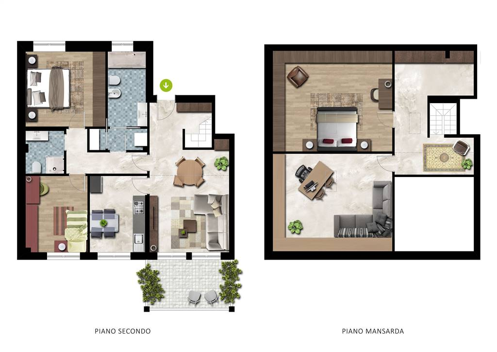 Foto - Appartamento In Vendita  Pontenure