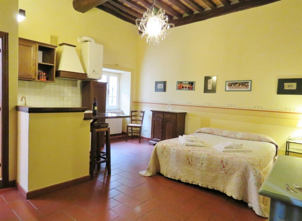 Appartamento in affitto a Cortona, 1 locali, zona Località: CENTRO STORICO, prezzo € 350 | Cambio Casa.it