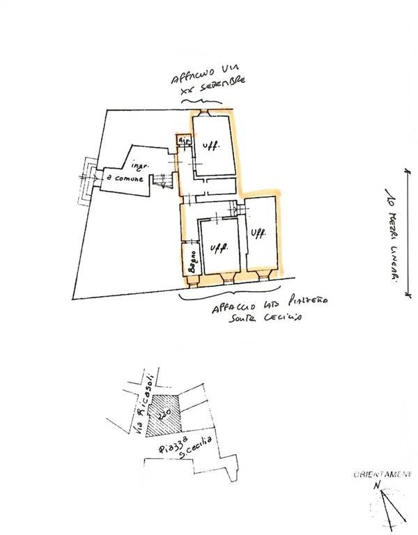 Ufficio / Studio in affitto a Foiano della Chiana, 3 locali, Trattative riservate | Cambio Casa.it