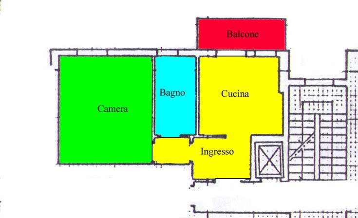 Appartamento in vendita a Scandicci, 2 locali, zona Zona: Casellina, prezzo € 150.000 | Cambio Casa.it