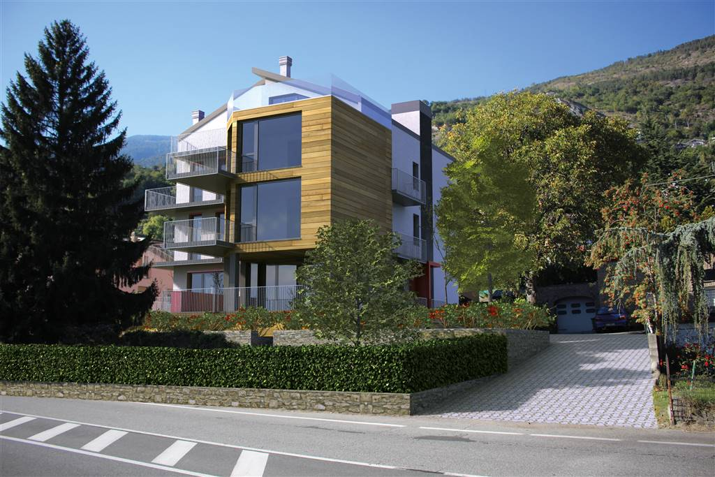 Quadrilocale, Aosta, da ristrutturare