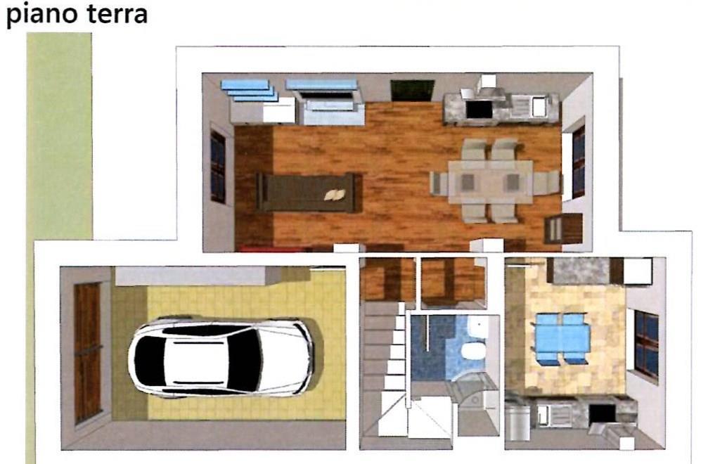 Vendita casa singola borgo san lorenzo in nuova for Piano casa aperta piani due piani