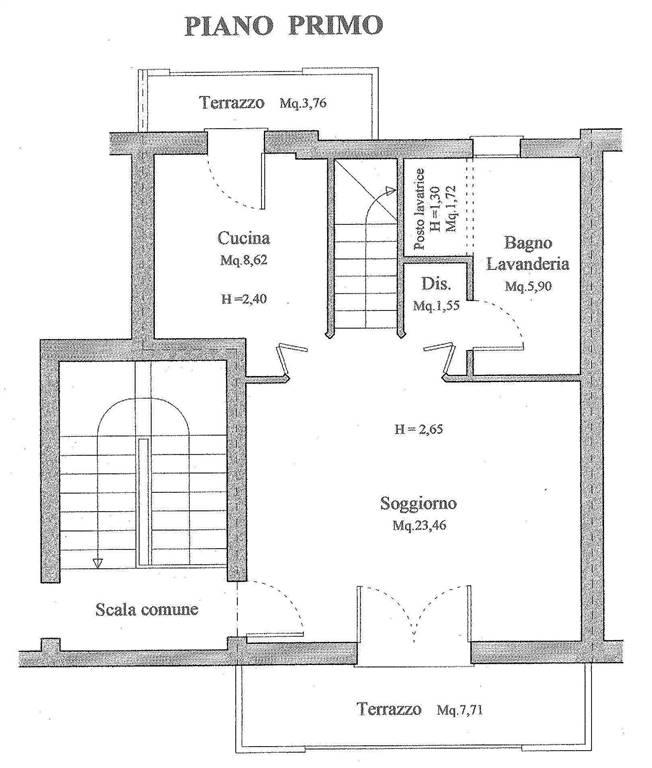 Appartamento in vendita a Ponzano Veneto, 4 locali, zona Zona: Paderno (capoluogo), prezzo € 195.000 | Cambio Casa.it