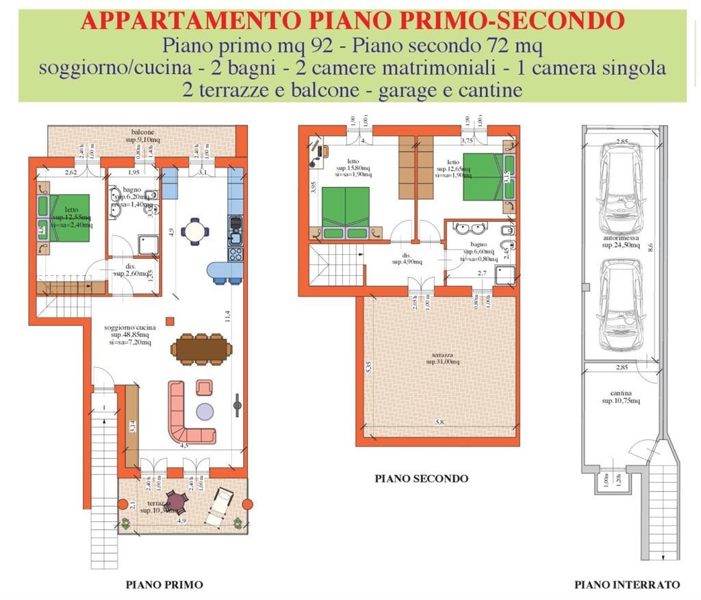 Appartamento in vendita a Oppeano, 5 locali, zona Zona: Vallese, prezzo € 189.000 | Cambio Casa.it