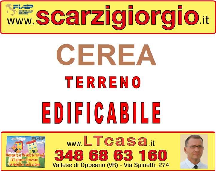 Terreno Edificabile Residenziale in vendita a Cerea, 9999 locali, prezzo € 70.000 | Cambio Casa.it