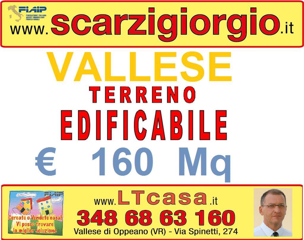 Terreno Edificabile Residenziale in vendita a Oppeano, 9999 locali, zona Zona: Vallese, prezzo € 100.000 | Cambio Casa.it
