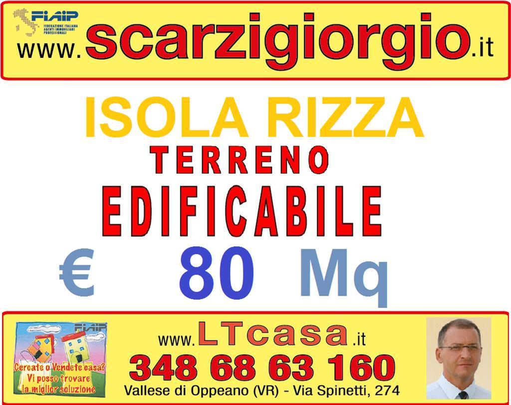 Terreno Edificabile Residenziale in vendita a Isola Rizza, 9999 locali, prezzo € 56.000 | Cambio Casa.it