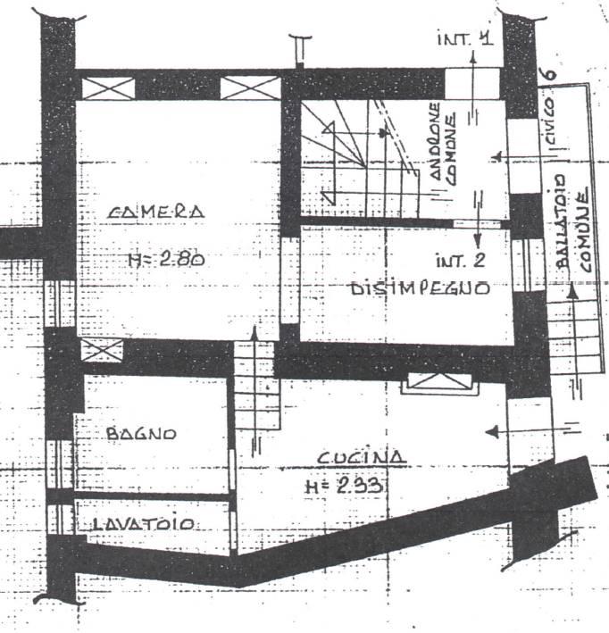 Appartamento in affitto a Zagarolo, 3 locali, prezzo € 200 | CambioCasa.it
