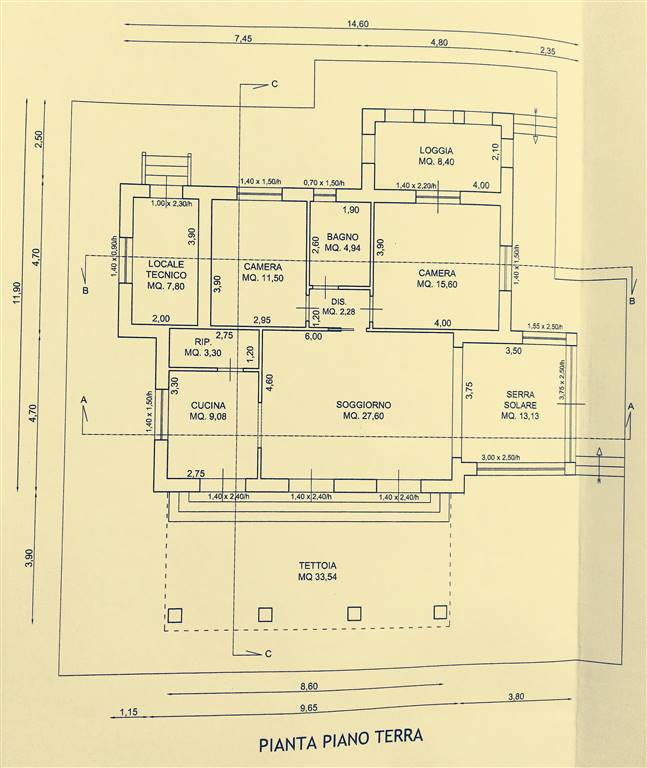 Villa in vendita a Bibbona, 6 locali, prezzo € 250.000 | Cambio Casa.it