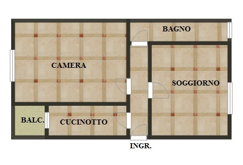 Appartamento in vendita a Sesto San Giovanni, 2 locali, prezzo € 75.000 | Cambio Casa.it