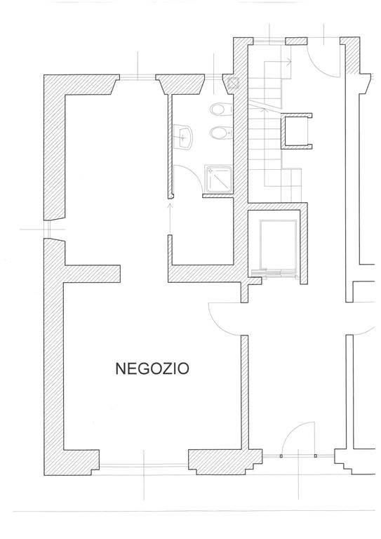 Negozio in Via San Gottardo 20900, San Biagio, Cazzaniga, Monza