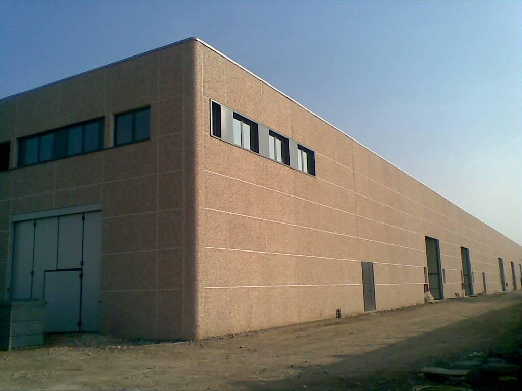Capannone industriale, Monza, in nuova costruzione