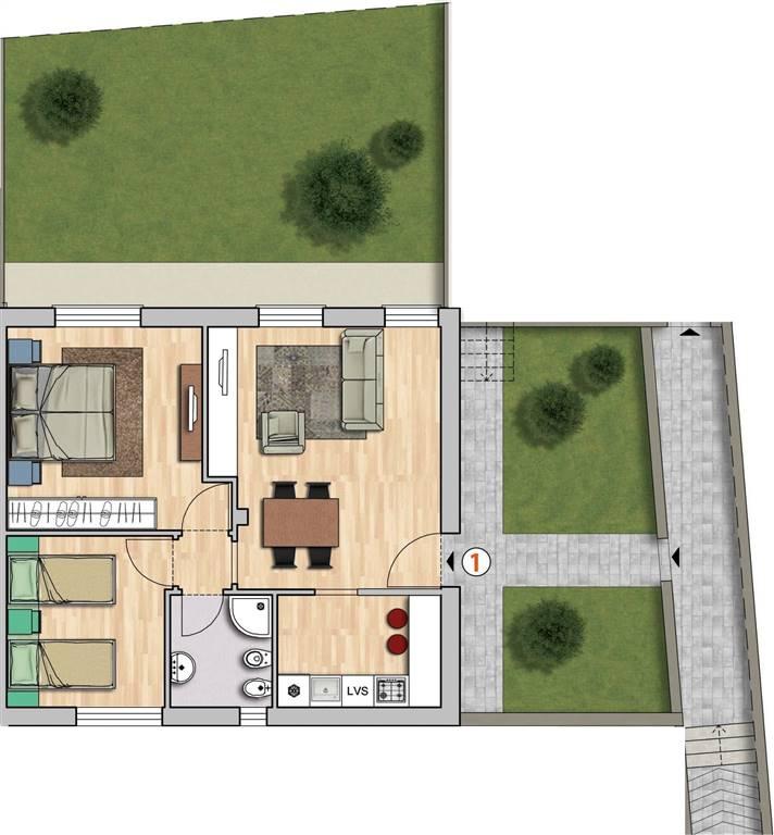 Appartamento in vendita a Reggello, 4 locali, zona Località: MATASSINO, prezzo € 195.000   Cambio Casa.it