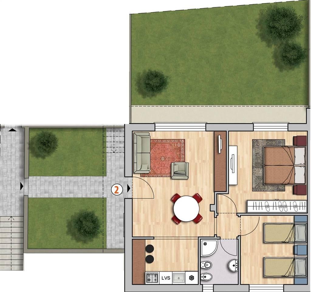 Appartamento in vendita a Reggello, 4 locali, zona Località: MATASSINO, prezzo € 195.000 | Cambio Casa.it