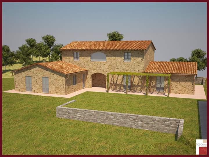 Soluzione Indipendente in vendita a San Casciano dei Bagni, 10 locali, prezzo € 590.000 | CambioCasa.it