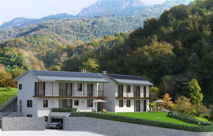 Villa Bifamiliare in Vendita a Abbadia Lariana