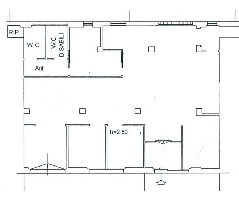 Negozio / Locale in affitto a Scandicci, 3 locali, zona Località: CENTRO, prezzo € 2.800 | Cambio Casa.it