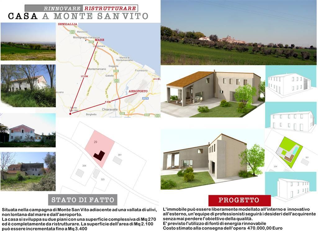 Rustico / Casale in Vendita a Monte San Vito