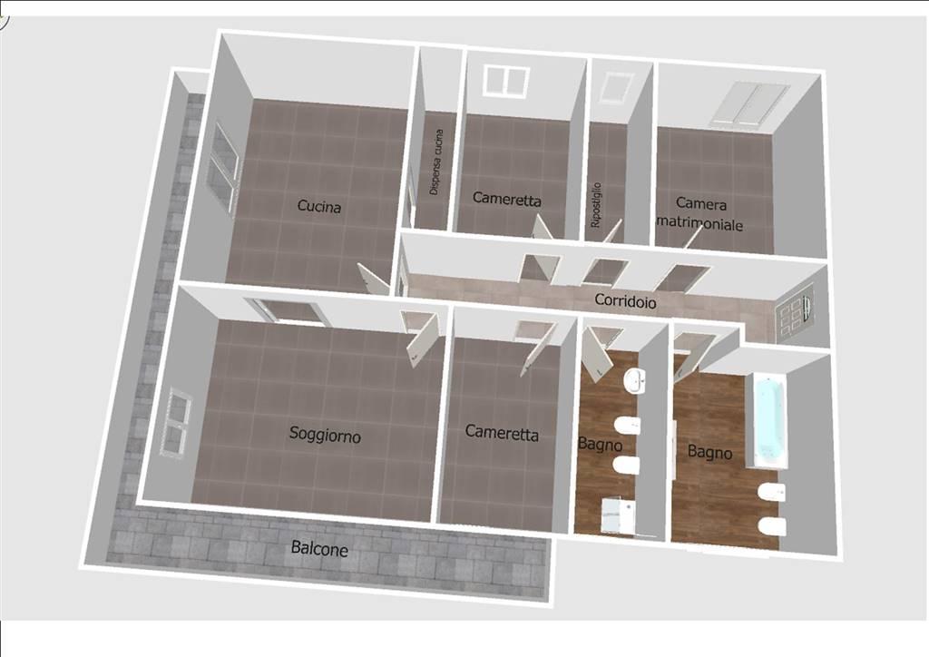 Appartamento in affitto a Venetico, 4 locali, prezzo € 450 | Cambio Casa.it