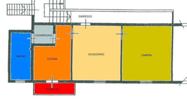 Appartamento in vendita a San Giovanni Valdarno, 3 locali, zona Zona: Bani, prezzo € 110.000   Cambio Casa.it