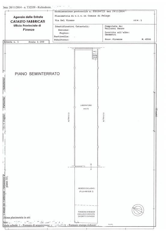 Laboratorio in vendita a Pontassieve, 1 locali, prezzo € 105.000 | Cambio Casa.it