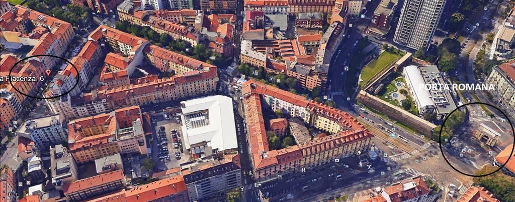 Affitto monolocale via piacenza 6 v giornate xxii marzo - Monolocale porta romana milano ...