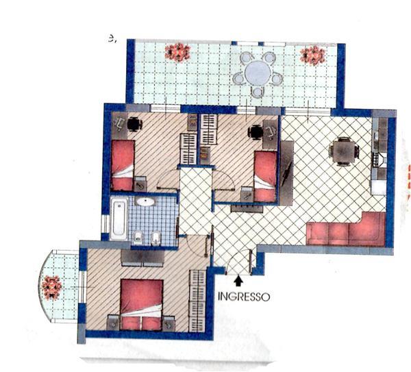 Appartamento in vendita a Messina, 3 locali, zona Località: CONTESSE,    Cambiocasa.it
