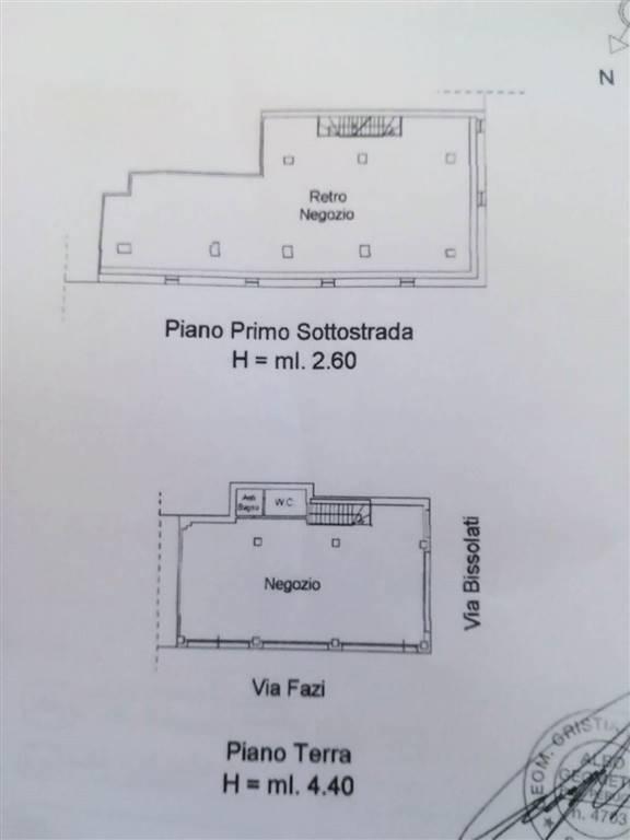negozio  in Affitto a Foligno