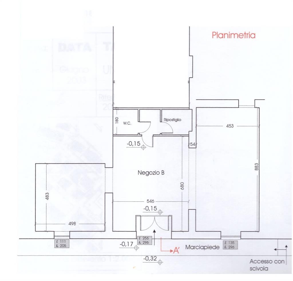 Negozio / Locale in vendita a Campiglia Marittima, 1 locali, zona Zona: Venturina, prezzo € 138.000 | CambioCasa.it
