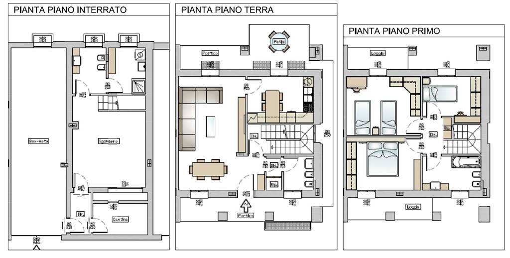 Awesome piante ville house villa savoye by le corbusier for Piante di ville moderne