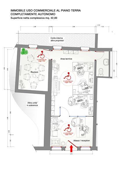 Ufficio / Studio in vendita a Chioggia, 1 locali, zona Località: CHIOGGIA CENTRO STORICO, prezzo € 80.000 | Cambio Casa.it