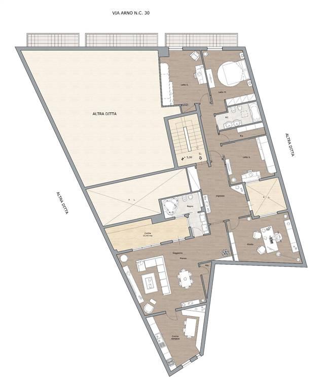 Appartamento in vendita a Andria, 5 locali, zona Località: SEMICENTRO, prezzo € 180.000 | CambioCasa.it
