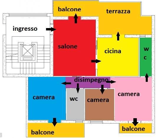 Appartamento in vendita a Marcianise, 4 locali, prezzo € 135.000   CambioCasa.it