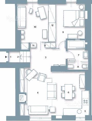 Appartamento in Affitto a Capodrise
