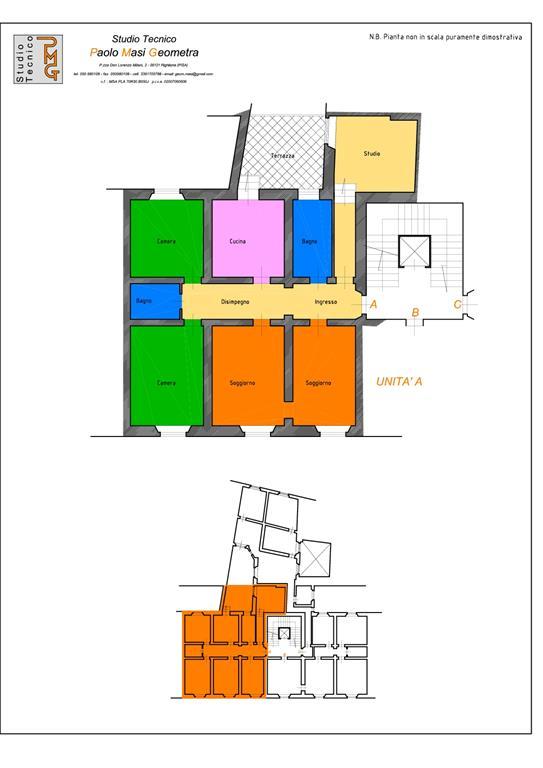 Ufficio / Studio in vendita a Pisa, 5 locali, zona Zona: Quartiere San Francesco, prezzo € 310.000 | Cambio Casa.it