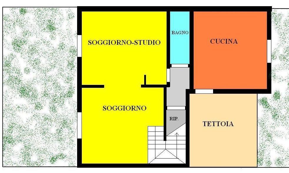 Soluzione Indipendente in vendita a Vecchiano, 6 locali, prezzo € 270.000 | Cambio Casa.it