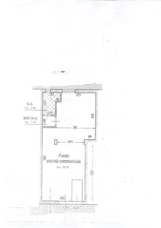 Immobile Commerciale in vendita a Pisa, 1 locali, zona Zona: Cisanello, prezzo € 100.000 | Cambio Casa.it