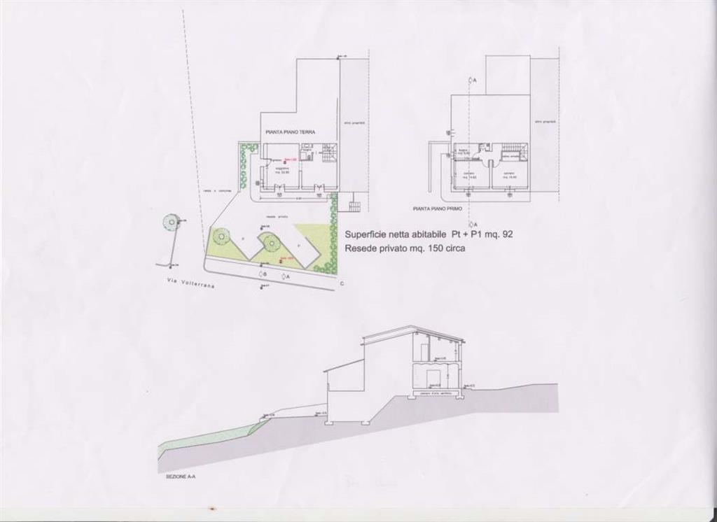 Soluzione Indipendente in vendita a Gambassi Terme, 4 locali, zona Zona: Pillo, prezzo € 190.000 | Cambio Casa.it