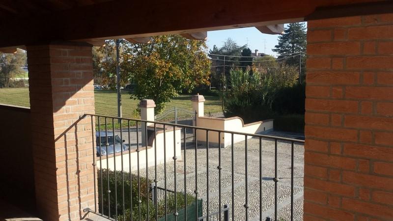 Villa a schiera, Cittanova, Modena, in nuova costruzione