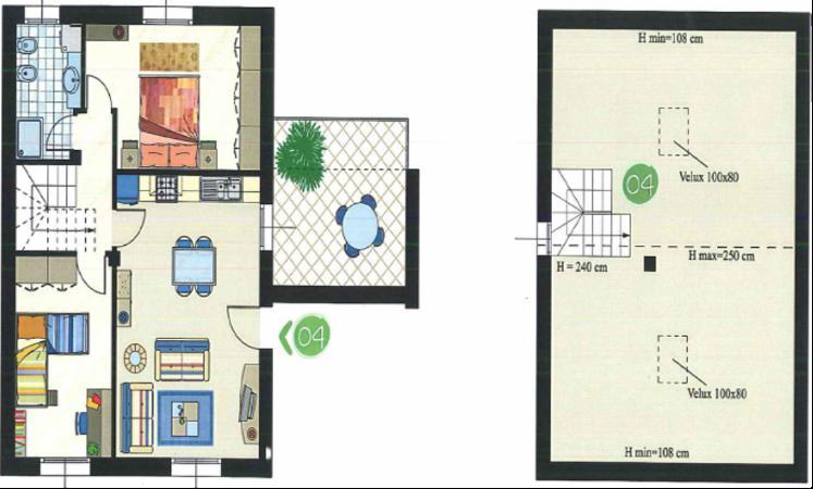 Appartamento in vendita a Castel Guelfo di Bologna, 4 locali, prezzo € 178.000   Cambio Casa.it