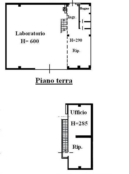 Laboratorio in vendita a Imola, 3 locali, zona Zona: Zona industriale, prezzo € 148.000   Cambio Casa.it