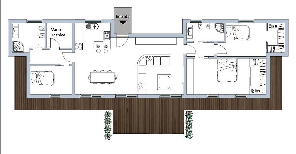 Villa in vendita a Conselice, 5 locali, prezzo € 275.000 | Cambio Casa.it