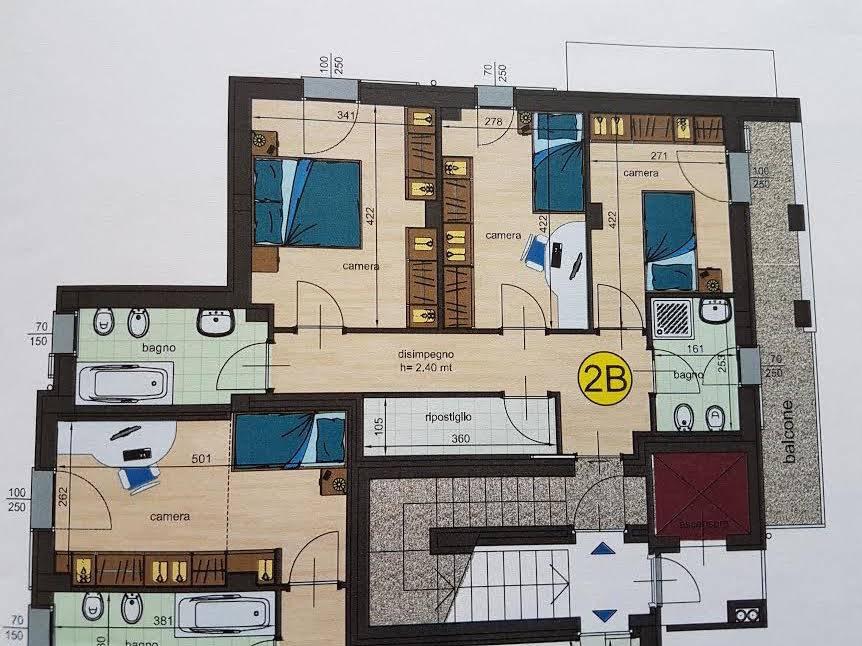 Foto: Attico, Infrangibile, Piacenza, in nuova costruzione