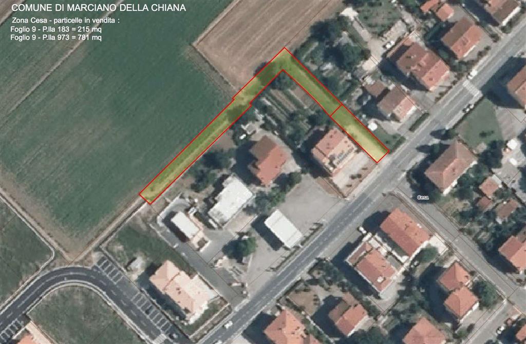 Terreno Edificabile Residenziale in vendita a Marciano della Chiana, 9999 locali, prezzo € 14.000 | Cambio Casa.it